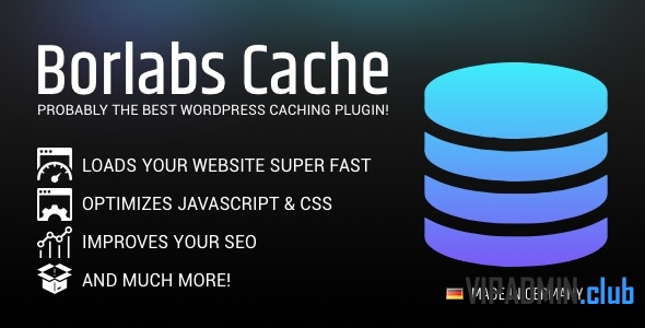Borlabs Cache v1.5.1 - плагин кеширования WordPress