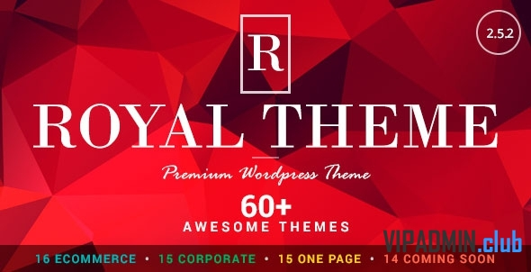 Royal v5.0.0 — универсальный шаблон для WordPress