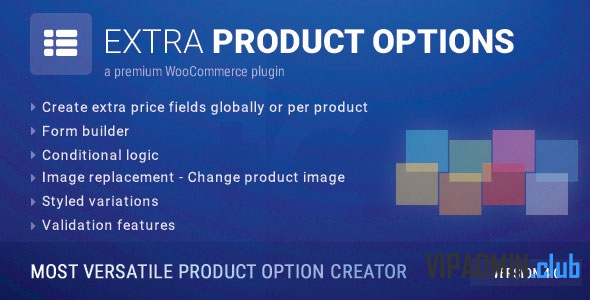 WooCommerce Extra Product Options v4.9.0