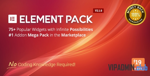 Element Pack v3.0.11 - Addon for Elementor Page Builder