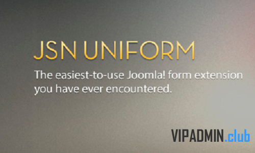 JSN UniForm Pro Unlimited v4.1.20 - создание форм для Joomla