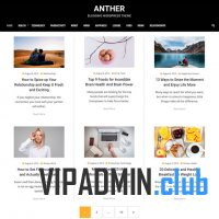 Anther тема для wordpress