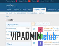 Support Ticket System 3.2.1 - система тикетов для xenForo 2