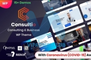 Consultio v1.1.5 - корпоративный консалтинг WordPress тема