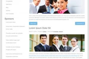 Стильный и дорогой шаблон сайта для вашего бизнеса